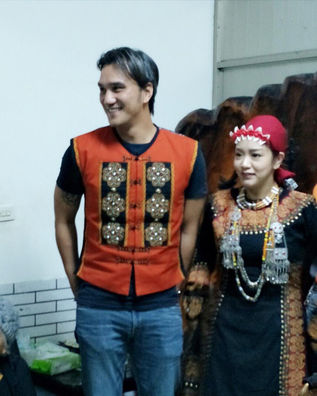馬志翔今年3月在家人的見證下求婚成功。(翻攝自馬志翔IG)