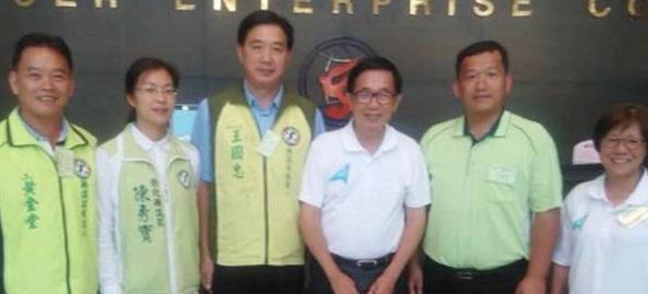 前總統陳水扁昨到彰化為中彰投一邊一國議員連線參選人加油打氣。(翻攝YonGe Chen臉書)