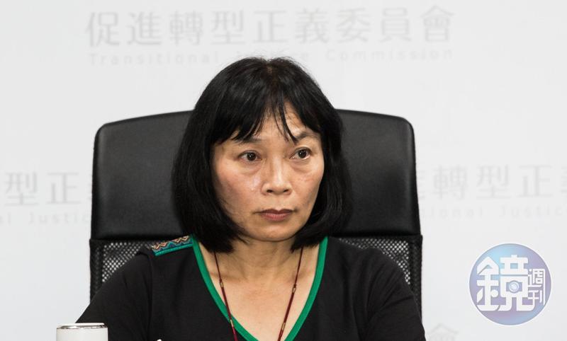 促轉會委員楊翠強調,促轉會是合議制,絕對不會依少數成員而成為「東廠」。