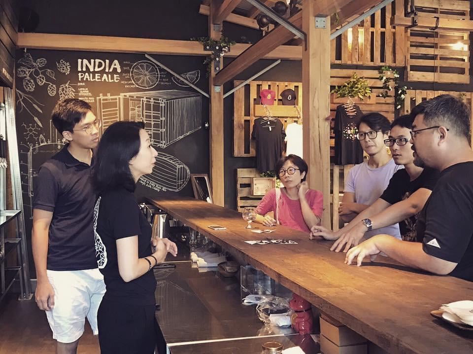 本次COOKMANIA串連許多跨界合作,如臺虎精釀與Fika Fika Cafe共同製作了一款咖啡啤酒。(COOKMANIA提供)