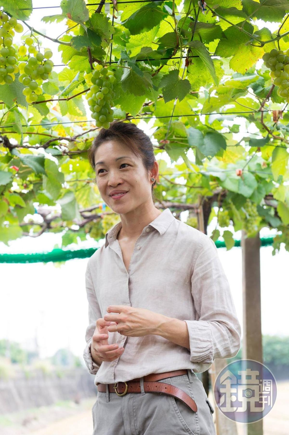 威石東酒莊負責人楊仁亞(Vivian)不畏困難,做出令人驚艷的台灣氣泡酒。
