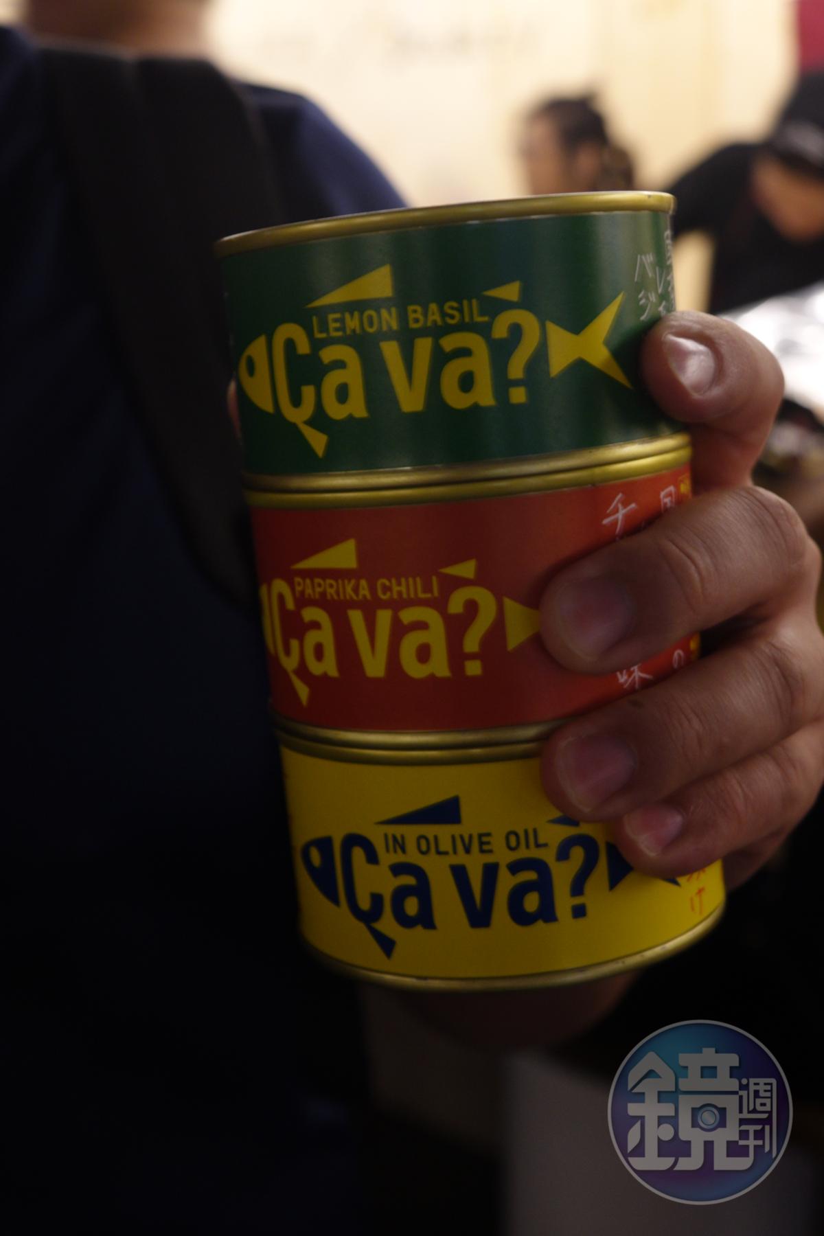 在「苗林行」有價格優惠的橄欖油和即食罐頭。
