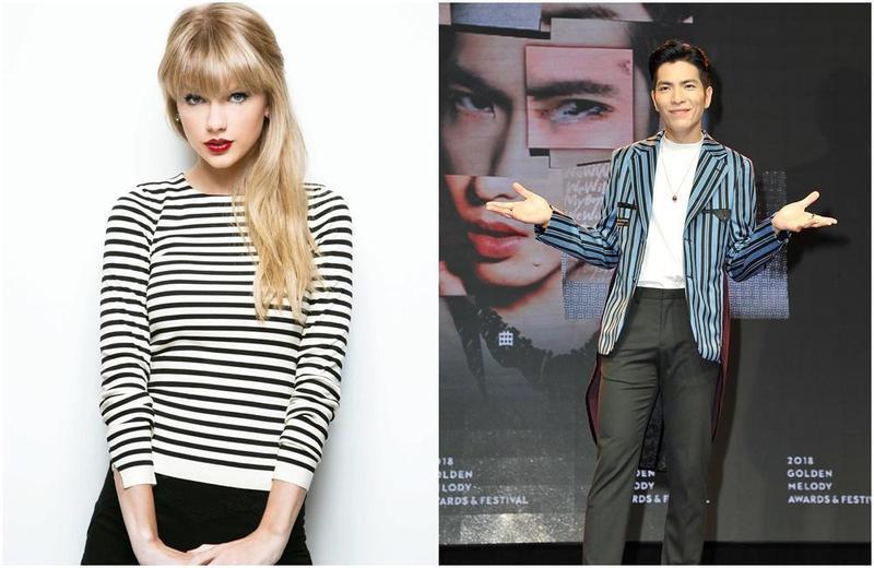 泰勒絲曾遇到粉絲為她搶銀行,蕭敬騰曾收到狂粉寄來的水晶鋼琴。(左圖取自網路,右圖本刊資料照)