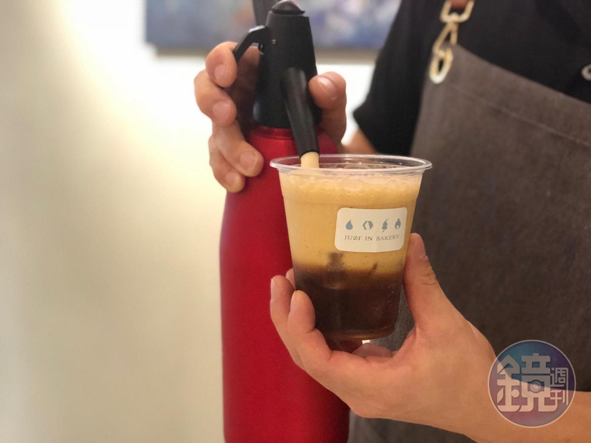 店裡的咖啡豆來自台中咖啡名店Coffee Stopover。