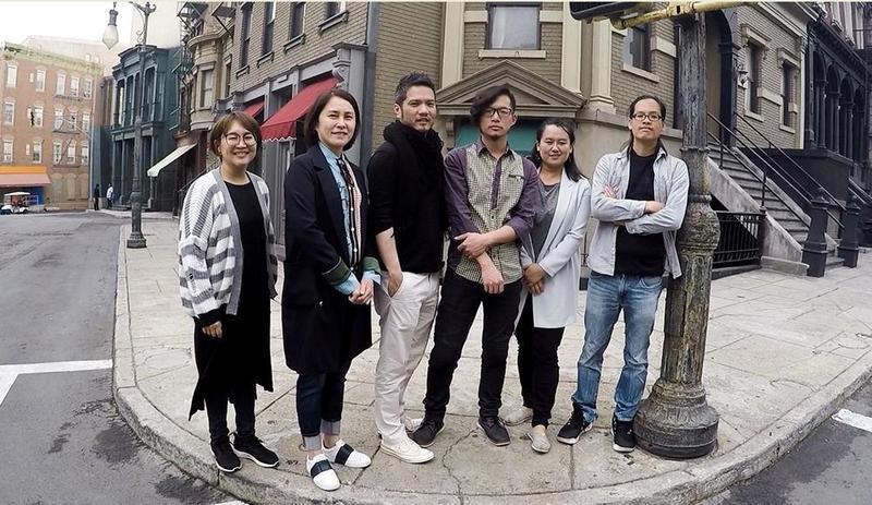 台灣學員參與21世紀福斯全球包容人才發展計畫,前往洛杉磯受訓學習。(福斯傳媒提供)