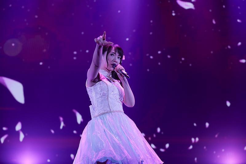 水樹奈奈在台北舉辦演唱會,吸引超過4,500名粉絲捧場。(華納唱片提供)