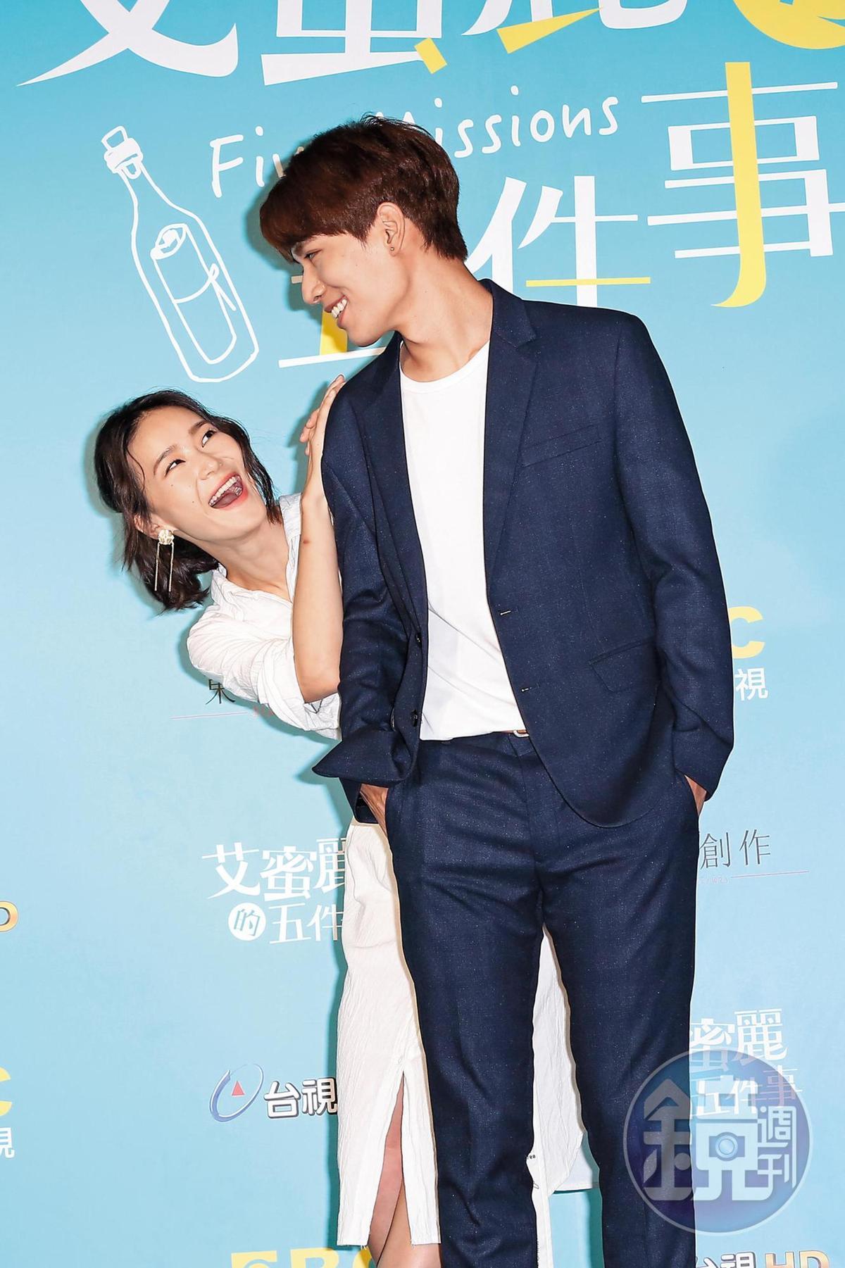 鍾瑶早已走出情傷,之前才跟小樂傳完,現又熱黏子閎;但子閎已經是四葉草的男友了。