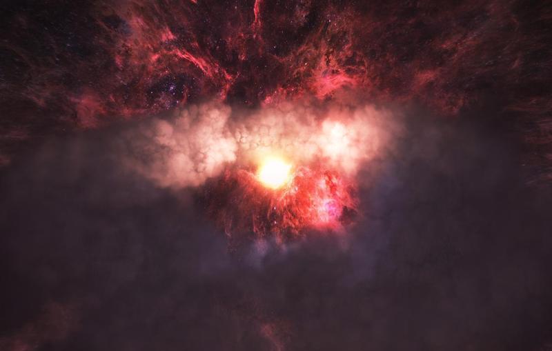 以太空體驗為題材的VR影片《Spheres》三部曲以7位數美元高價售出版權。(ATLAS V提供)