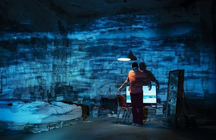 導演陳芯宜虛構可上傳記憶意識的未來世界,創作出VR影片《留給未來的殘影》。(高雄電影節提供)