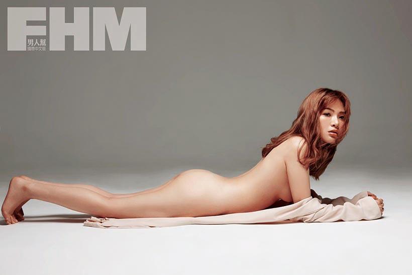 陳沂講話麻辣,尺度也常常破表,接受雜誌邀約拍攝性感照,陳沂還稱 一定要全裸才肯拍,認為拍攝性感照是她的人生夢想。(翻攝自陳沂臉書)