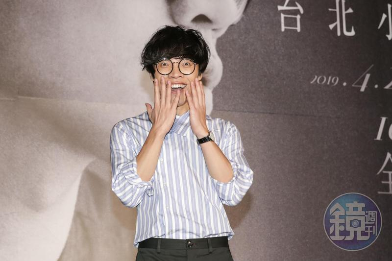 盧廣仲宣布將5度站上台北小巨蛋開唱,用4月27日舉辦的《大人中》演唱會紀念出道11年。