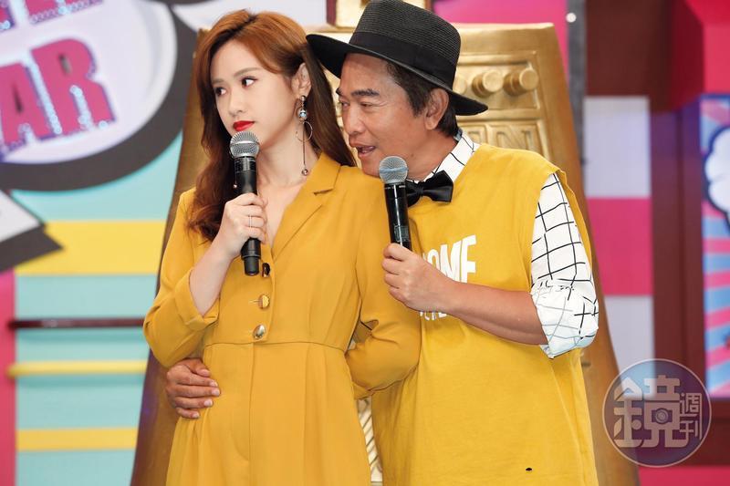 吳姍儒曾因《小明星大跟班》,跟爸爸吳宗憲一起得過最佳綜藝節目主持人獎項,但今年僅有節目入圍而已。