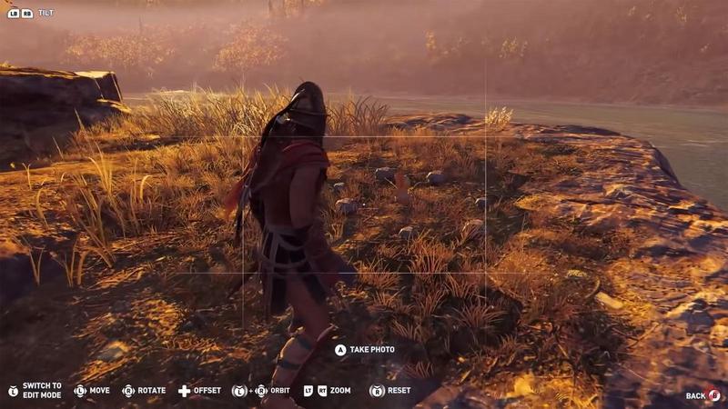 在《刺客教條:奧德賽》中,可以發現到讓很多《薩爾達》玩家花費大量時間尋找的「克洛格」。(翻攝自 IGN Youtube)