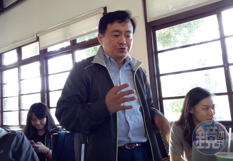 葛特曼來台開記者會一事,民進黨祕書長洪耀福特別澄清與民進黨無關。