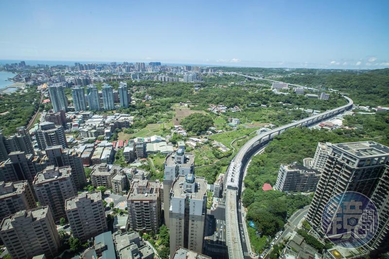 淡海新市鎮堪稱大台北最親民的重劃區,適合願意等待市鎮交通發展的購屋者。
