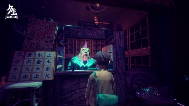 結合台灣鬼神及傳統文化的獨立遊戲《夕生》,預計2019年春季上市。(群募貝果提供)