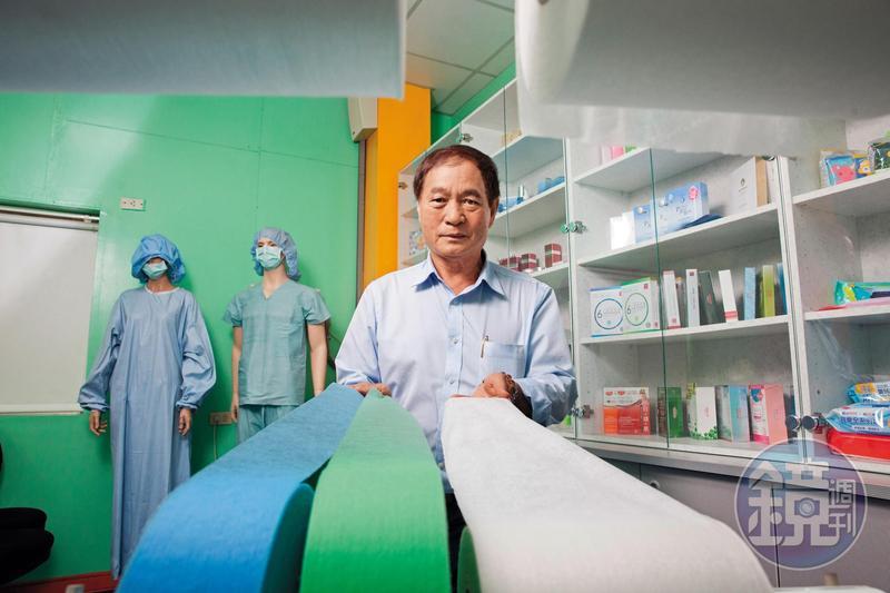 吃番薯籤長大的窮小孩、南六企業董事長黃清山,如今拚出年營收近65億元佳績。