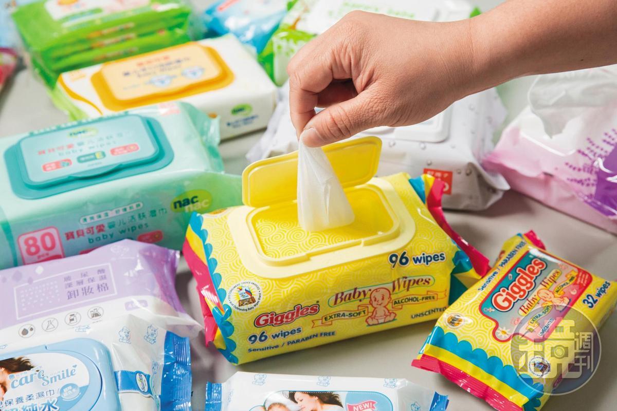 溼紙巾是南六的主要產品之一,外銷中國、東南亞等地。
