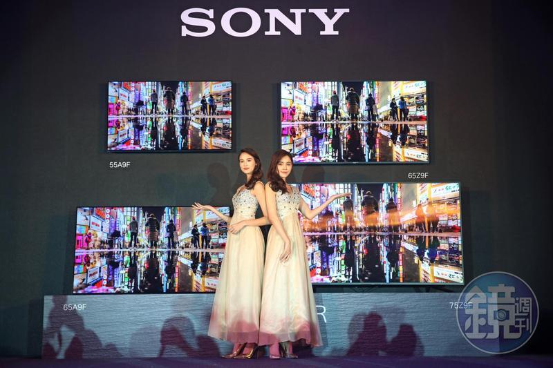 Sony電視業務自2004年起持續虧損,2017年因OLED電視銷售佳,成功轉虧為盈。