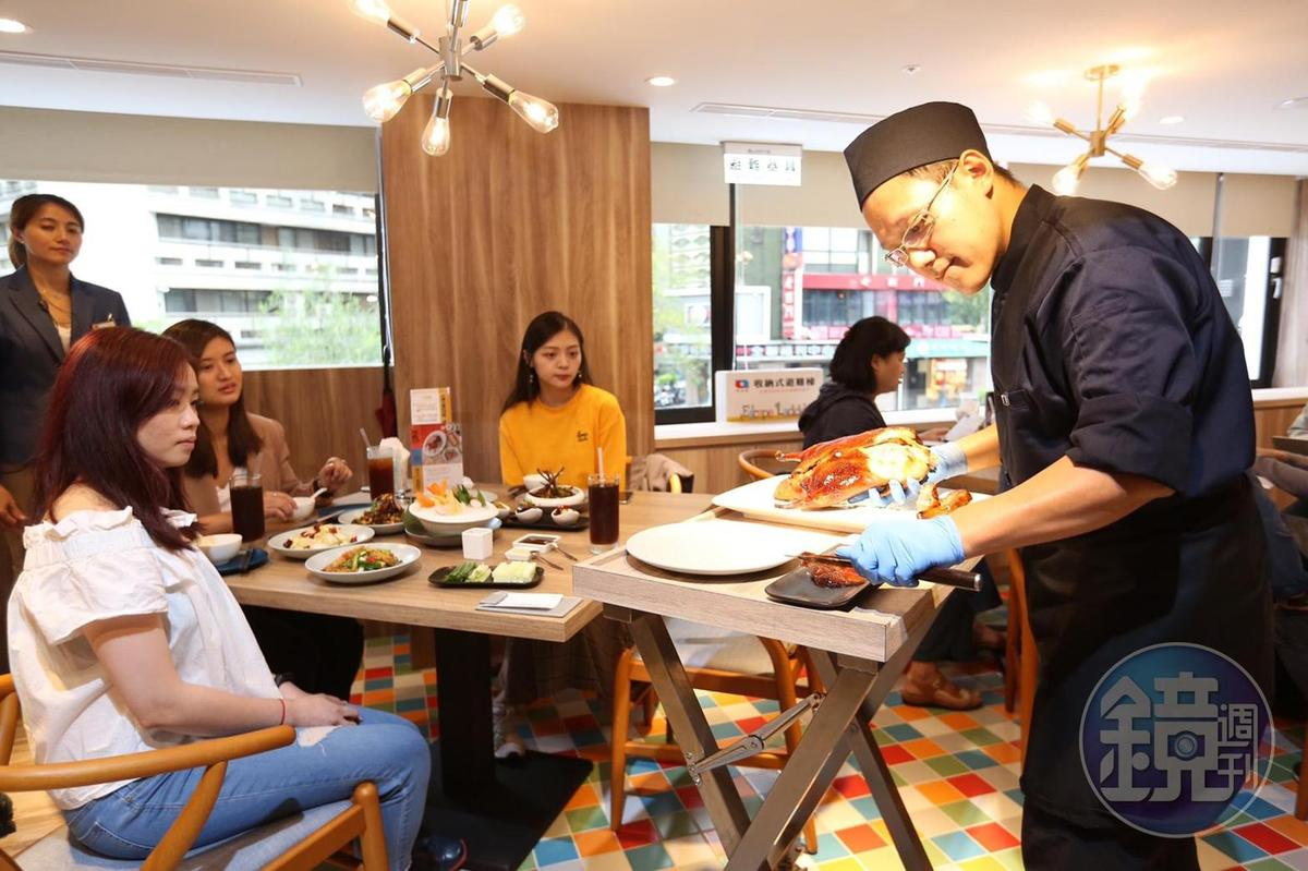 「享鴨」主打中高價位烤鴨與中華料理。