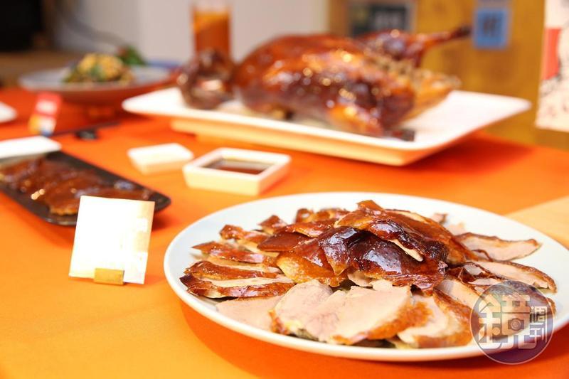 王品新品牌「享鴨」正式登場,堅持料理每天新鮮現烤。