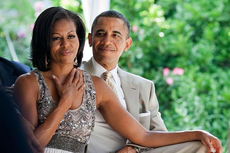 前美國總統歐巴馬夫妻結婚26年,互相告白感謝陪伴。(取自barackobama Instagram)
