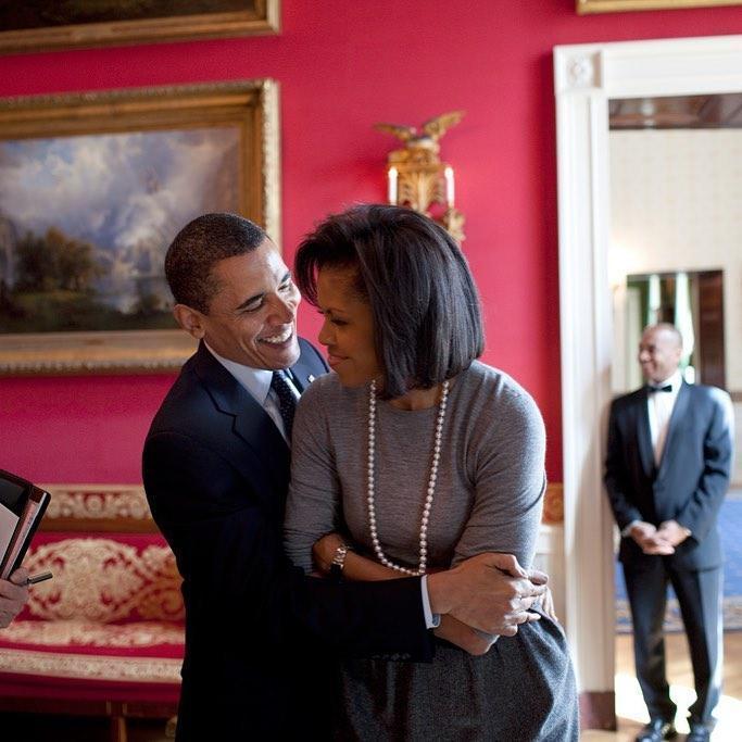歐巴馬的社群媒體上有著夫妻倆滿滿的照片。(取自barackobama Instagram)