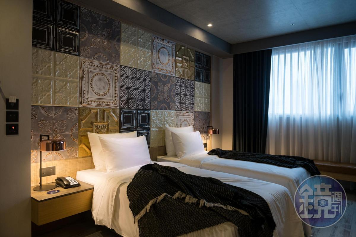 「比歐緻居」定位為小而精緻的飯店,每間房型皆具不同設計主題。