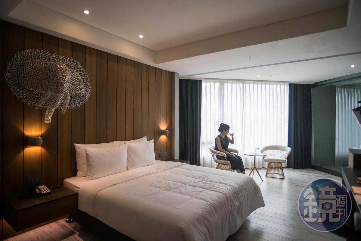 比歐緻居」定位為小而精緻的飯店,每間房型皆具不同設計主題。