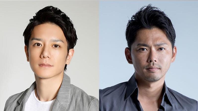 日本傑尼斯男神瀧澤秀明(左)繼上月宣布「瀧與翼」解散後,又被爆出他早早引退,全是為了私生女。右為今井翼。(翻攝自傑尼斯事務所官網)