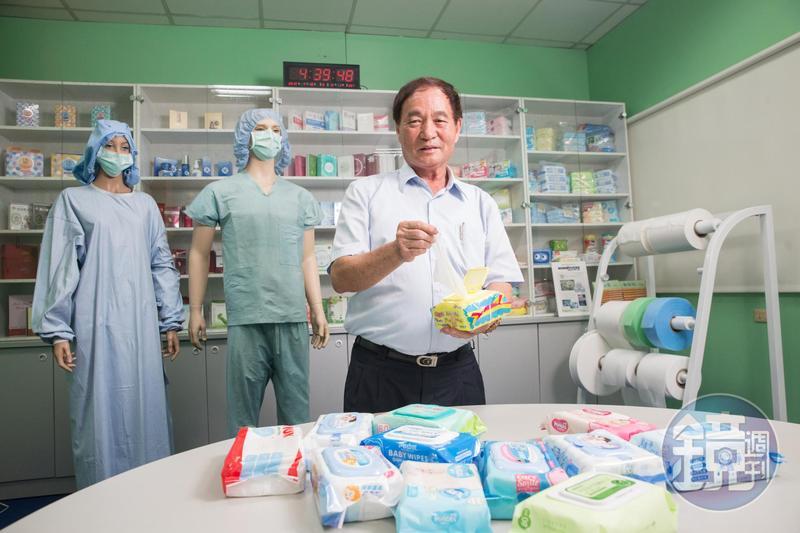 黃清山創立的南六企業,現為亞洲第二大不織布供應商。