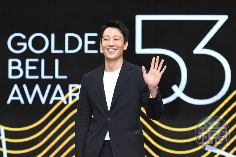 金來沅為第53屆金鐘獎擔任首次海外頒獎禮的頒獎嘉賓。