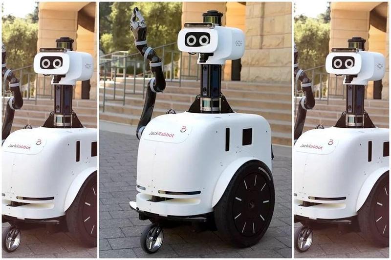 史丹佛大學計算視覺和幾何實驗室最新開發的懂禮貌機器人JackRabbot 2。(史丹佛大學官網)