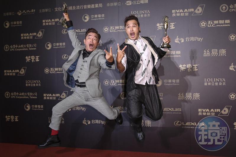 吳宗憲與KID為了《綜藝玩很大》簡直是賣命演出。