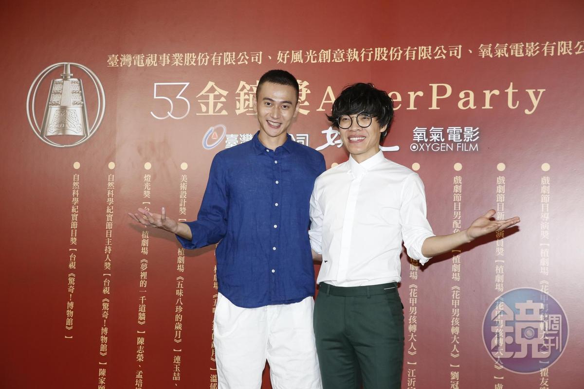 劉冠廷有感而發表示,過去曾懷疑自己演技,一直沒被注意,但今天拿下獎項,終感被肯定,謝謝家人一直支持。