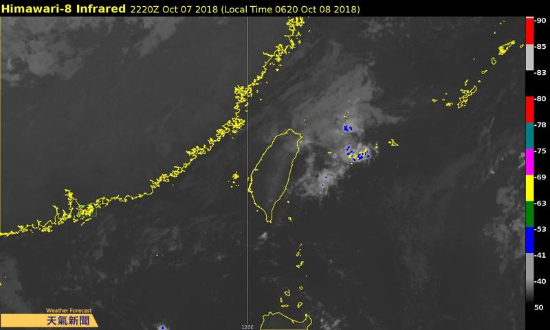 本週均為東北風的天氣型態,預計今明東北風將會稍微減弱,預估週三起會有另波東北風南下。(翻攝自氣象達人彭啟明粉專)