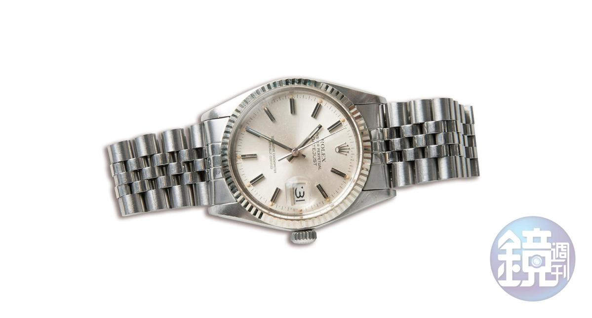 勞力士骨董錶,父親給的家傳腕錶。