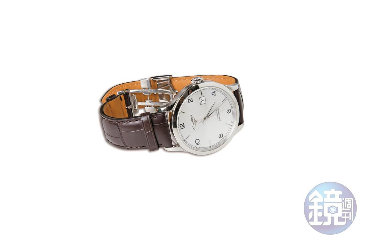 LONGINES開創者系列腕錶, 約NT$60,000。