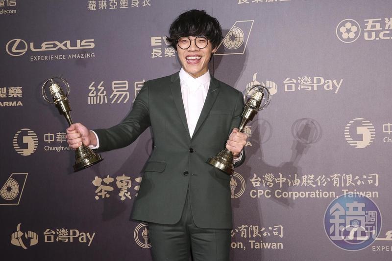 盧廣仲風光拿下金鐘獎兩項大獎,8日演唱會門票開賣也瞬間完售。