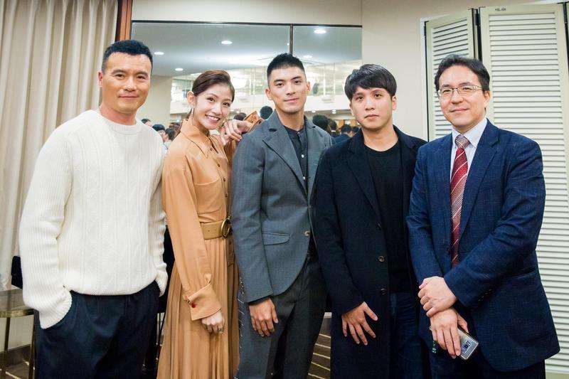 電影《狂徒》日前出席釜山影展台灣之夜,映後獲得韓國觀眾熱烈迴響。(貴金影業提供)
