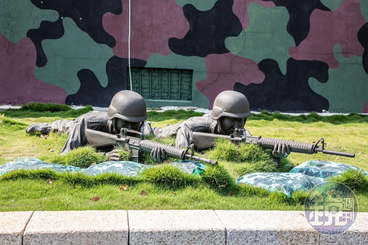 后麟營區原本是軍方補給連,現在則變身為軍事射擊的體驗場所。