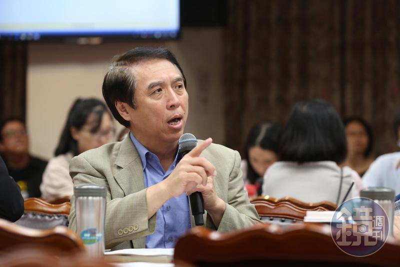 陳學聖說,民進黨誤以為鄭文燦的選情很穩,所以就犧牲了藻礁。(本刊資料照)