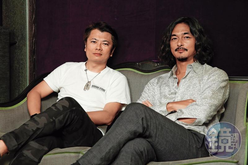 NAKED Inc.創辦人村松亮太郎(右),應馮建彰(左)邀請來台展開合作及技術交流。