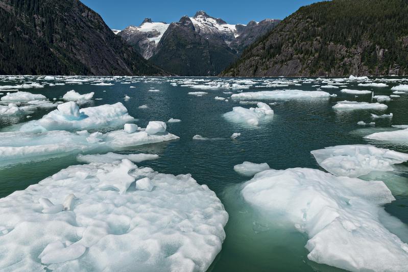 聯合國政府間氣候變遷專門委員會(IPCC)近日公佈氣候調查報告,指出若全球均溫增加1.5度,北極海本世紀可能夏月無冰。(東方IC)
