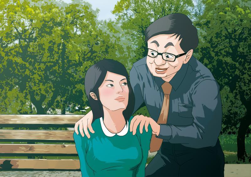 王男帶女生前往偏僻地方,藉故按摩等理由進行騷擾。