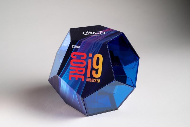 第9代Intel Core i9盒裝處理器。(英特爾提供)