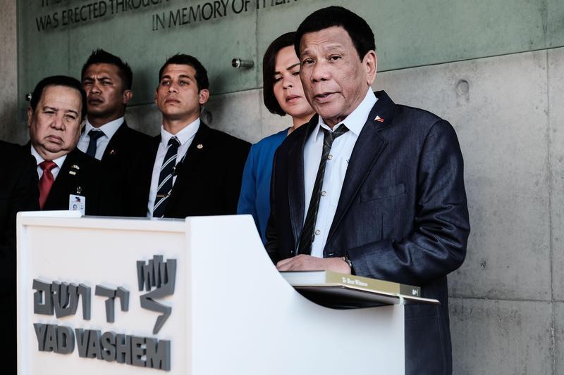 菲律賓政府今證實總統杜特蒂健檢結果為陰性,並未罹患癌症。(東方IC)