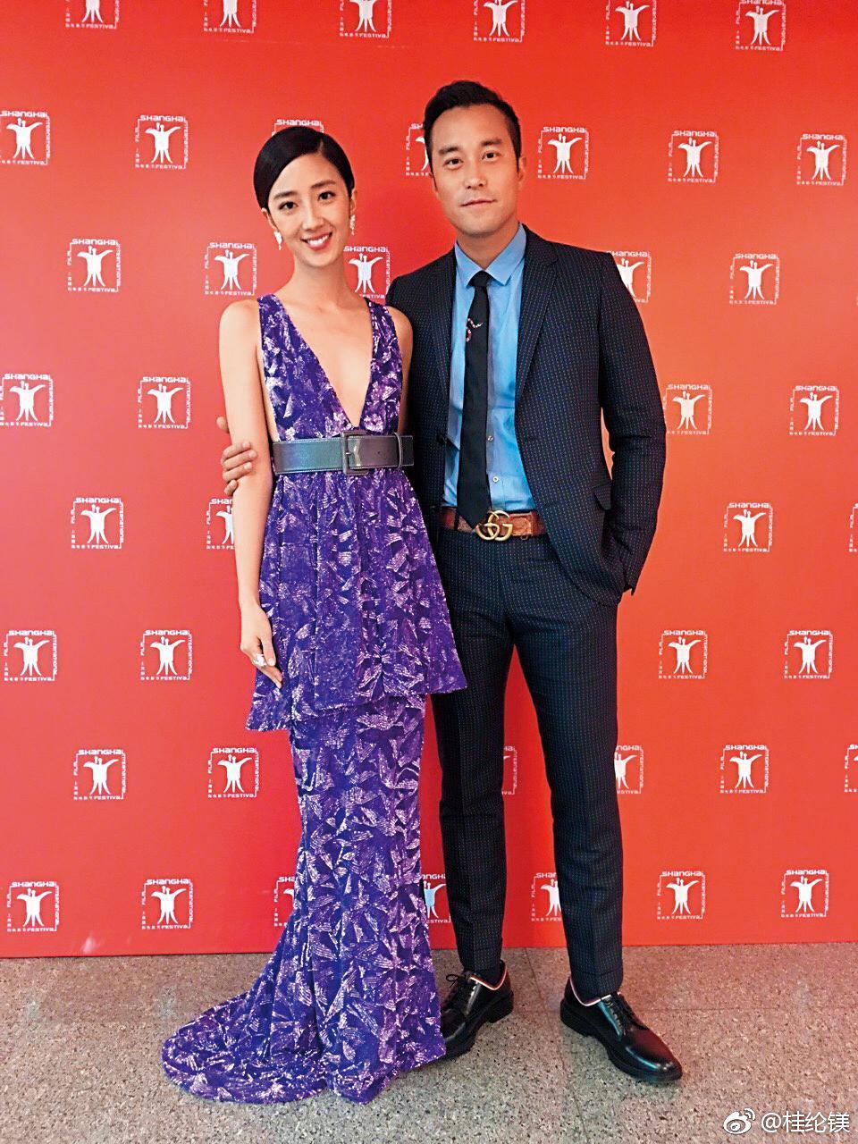 桂綸鎂(左)與好友張孝全(右)合作電影《女朋友。男朋友》,兩人默契絕佳。(翻攝自桂綸鎂微博)