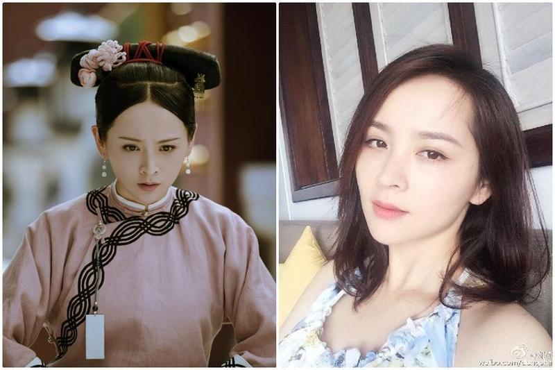 《延禧攻略》中演出女主角魏瓔珞姐姐的鄧莎,被指控偷東西,上網自清。(微博)