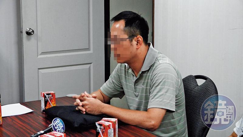 林姓職業軍人當初拿50萬元投資,後來因帥過頭要求,又背了上千萬元貸款。
